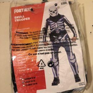 Other - Fortnite Skull Trooper Costume